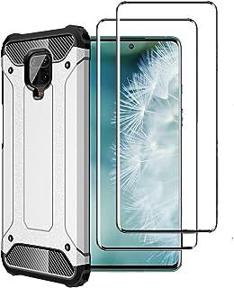 FANFO® Funda para Xiaomi Redmi Note 9S/9 Pro/9 Pro MAX, protección contra Golpes de TPU + PC Resistente a arañazos (Doble ...