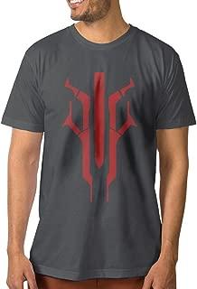 Designed Men's T-shirt Destiny Shooting Game Logo DeepHeather
