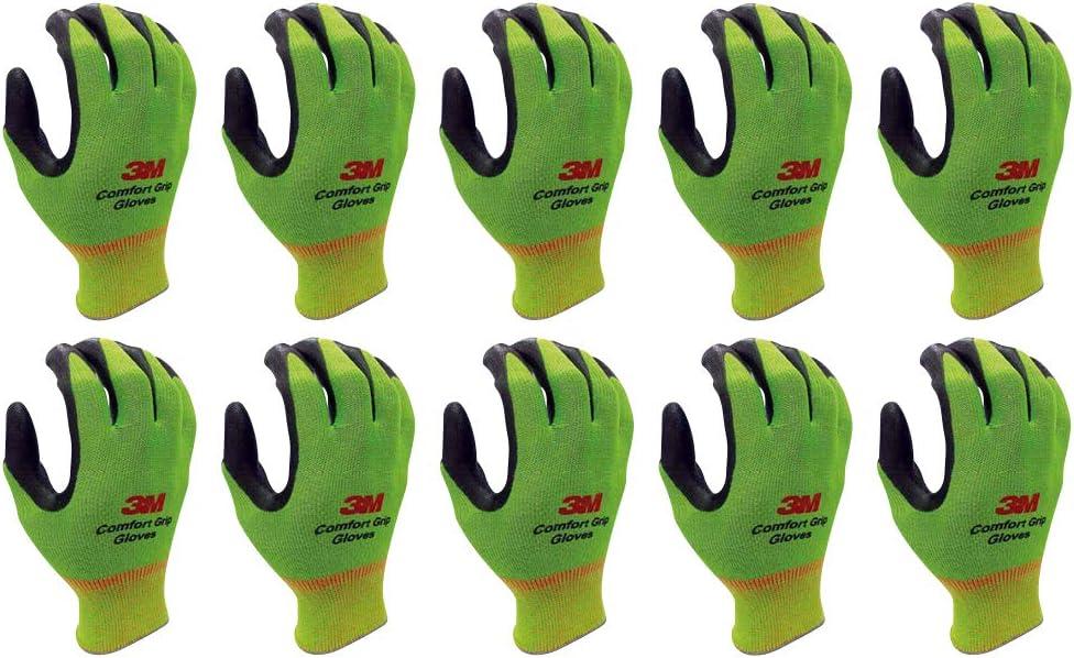Lightweight Tulsa Mall Nitrile latest Foam Coated Work Gloves 10 Multi - Pairs Pac