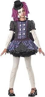 California Costumes Broken Doll Child Costume, Medium Plus