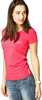 Armani Jeans Cotton Round Neck T-Shirt For Women