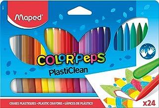 Maped - Estuche de 24 ceras duras Color'Peps
