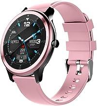 Smart Watch Men's IP68 Waterproof Touch Screen Men's and Women's Fitness Tracker Watch Heart Rate Sleep Tracker Pedometer Message Notification Activity Tracker