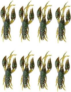 3 Pack Rubber Squishy Crawfish Crawdad Crayfish Mudbug Lobster