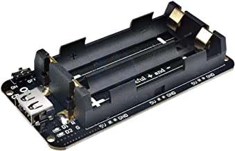 Dual Double 18650 Lithium Battery Shield V8 Mobile Power Expansion Board Module 5V/3A 3V/1A Micro USB for Arduino ESP32 ESP8266