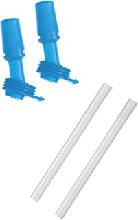 CamelBak Eddy Kids Bite Valves & Straws Double Pack, Blue, One Size