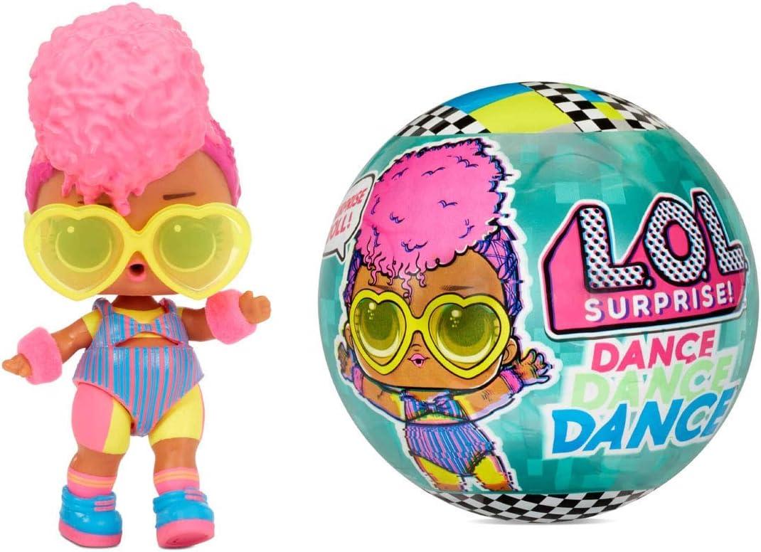 LOL Surprise Poupées Dance Dance Dance - 8 surprises, vêtements et accessoires - Comprend une piste de danse tournante et son propre mouvement de danse - à collectionner