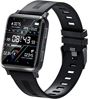 suinsist Smart Watch with Call, Fitness Tracker with Sleep Monitor, Activity Tracker with 1.54 Inch Touch HD Screen, IP67 Waterproof Pedometer Smartwatch with Step Monitor, for Android iOS Phones