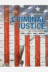 Essentials of Criminal Justice Paperback