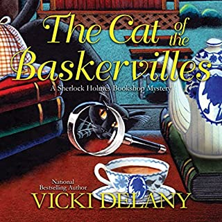 The Cat of the Baskervilles audiobook cover art