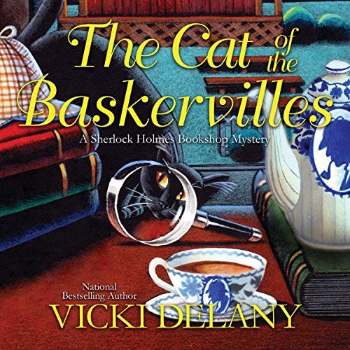 The Cat of the Baskervilles cover art