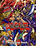 Yu-Gi-Oh Coloring Book: 50+ coloring pages in total, on single side pages, with a variety of Yu-Gi-Oh movie characters and scenes.