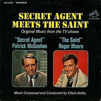 """Secret Agent Meets The Saint (Original Music from the TV Shows """"Secret Agent"""" / """"Secret Saint"""""""