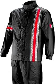 Corazzo Unisex-Adult Portland Rain Suit (Black, XX-Large)