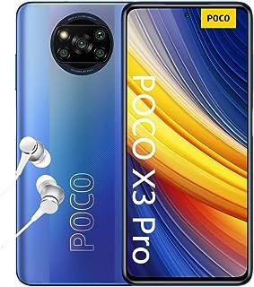 "POCO X3 PRO Smartphone (16,94cm (6,67"") FHD+ LCD DotDisplay 120Hz, 8GB+256GB Speicher, 48MP Quad-Rückkamera, 20MP Frontkam..."