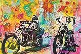 Dean Russo/Easy Rider Poster Drucken (60,96 x 91,44 cm)