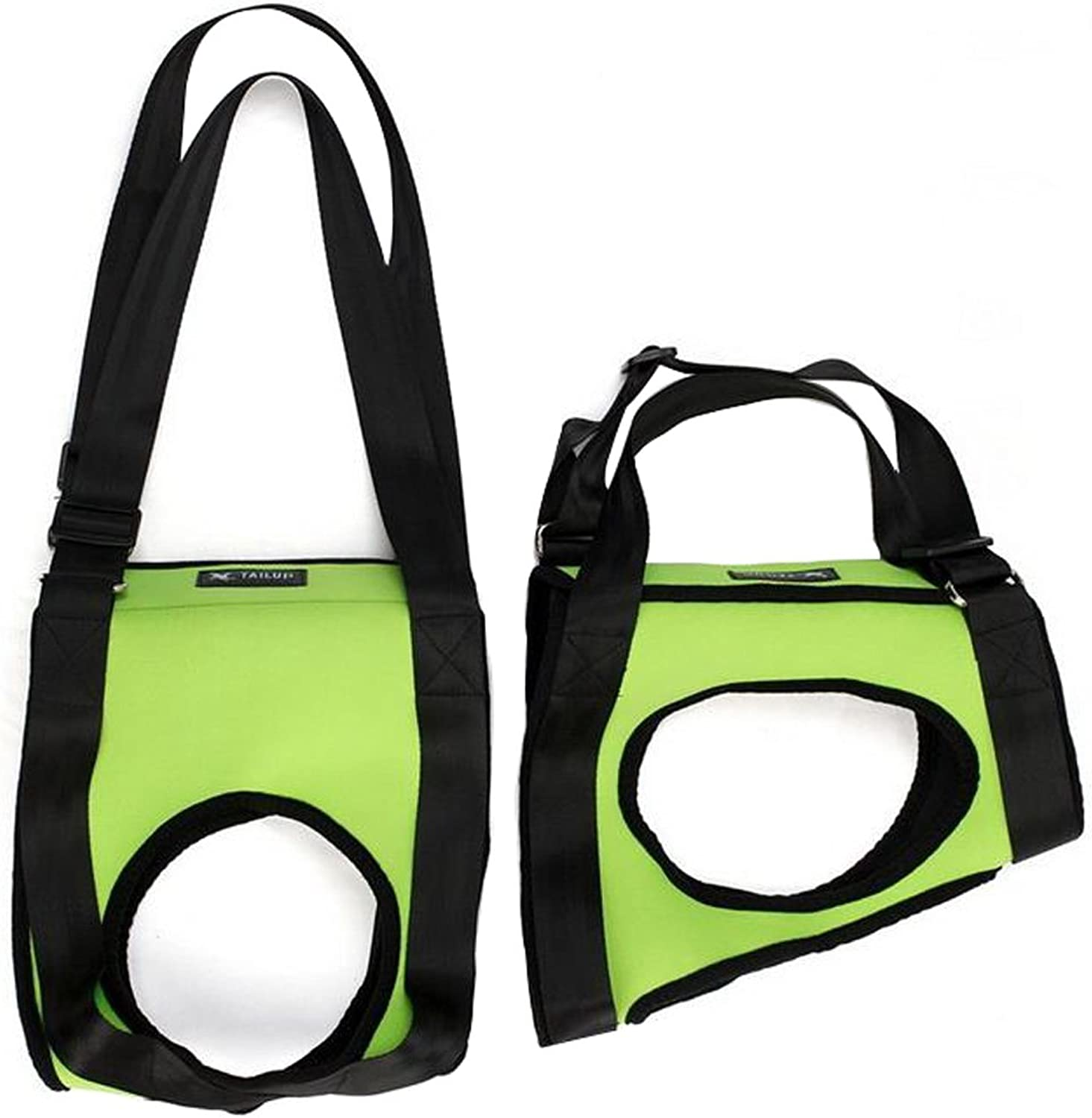 Creation Core Dog Lift Rehabilitation Support Harness Assist for Elderly Disable Joints Surgery(Green,2835Kg)