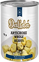 Dalida - Whole Artichoke Hearts in Water (Pack of 4), 14 oz x 4