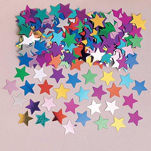 amscan 9900489 14 g Confettis métalliques Stardust