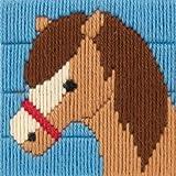 Anchor - Kit para principiantes de tapiz para bordar (10 x 10