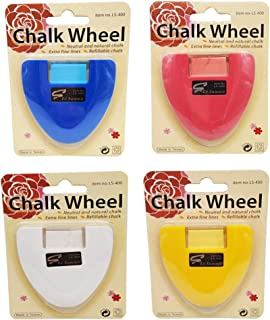 HONEYSEW Set of 4 Professional Tailor`s Chalk Triangle Tailor`s Chalk Sewing (4 Color)