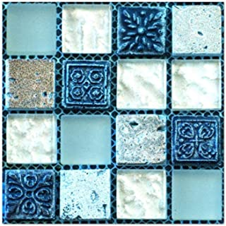 Pegatinas de Pared 10x10cm 20 pc Piso de Azulejo Auto-