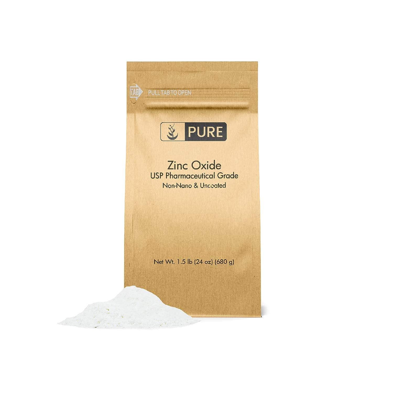 Zinc Oxide Powder New item 1.5 Max 41% OFF lb. U Non-Nano Packaging Eco-Friendly