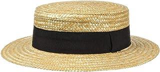 Lipodo Boater paglietta Donna/Uomo - Made in Italy - Cappello da Sole in Paglia di frumento - Cappello da gondoliere - Cop...