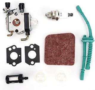 Metal Kit de Reemplazo de Carburador para STIHL FS38 FS45 FS46 FS55 KM55 HL45 FS55C FS55R FS55RC Cortacésped Accesorios para Herramientas de JardíN