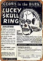 1951ラッキースカルリングコミック広告グッズウォールアート
