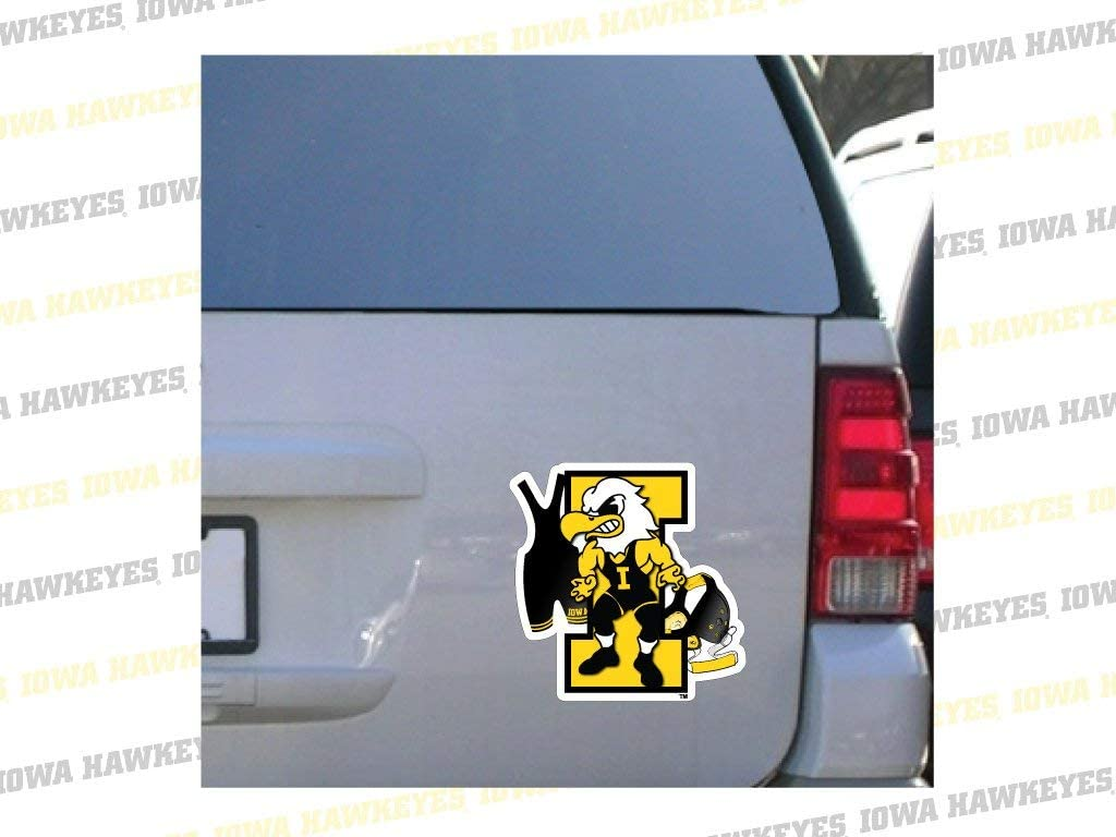 VictoryStore Magnets Max 53% OFF - Iowa free Hawkeye Car Magnet Herky Wrestling