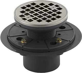 Kohler K-9135-BN Round Design Tile-In Shower Drain, Vibrant Brushed Nickel