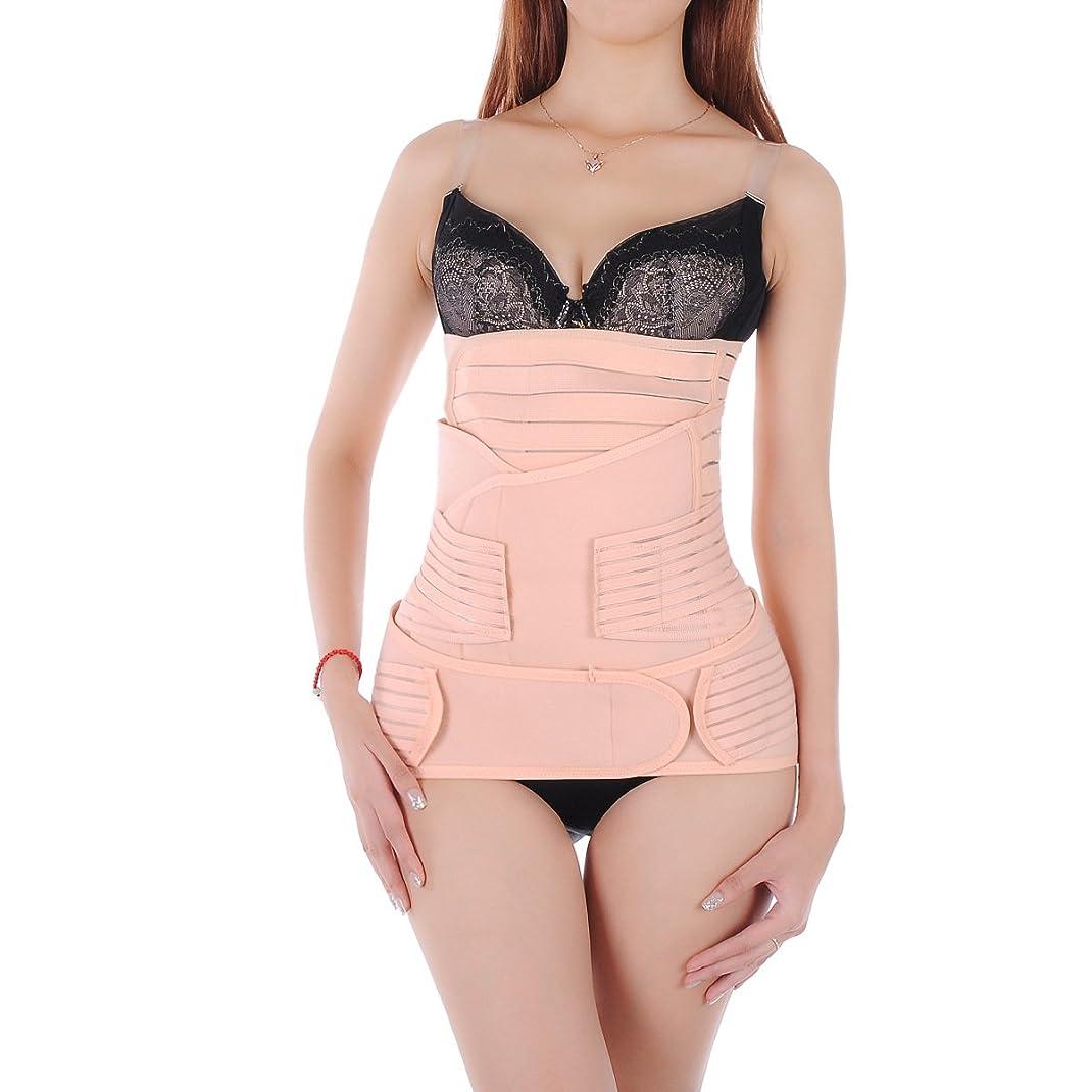 電話をかける考える母性ROSENICE 産後腹腰ベルト 骨盤ベルト セット サイズM