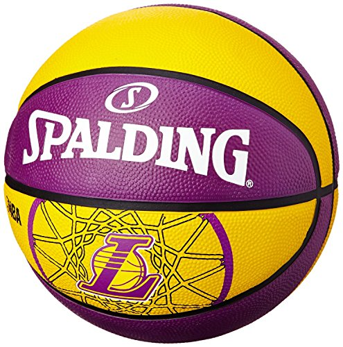 Spalding - 2015 NBA Team Size 5 Rubber Basketball ? Lakers Rubber
