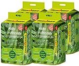 Floragard Aktiv-Grünpflanzen- und Palmenerde 4x20 L • Spezialerde für Palmen, Farne, Ficus, andere Grün- und Zimmerpflanzen • mit 3-Monate-Langzeitdünger • zum Topfen und Umtopfen • 80 L