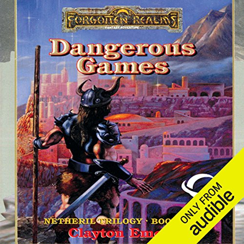 Dangerous Games audiobook cover art