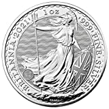 Bears a face value of 2 (GBP) backed by the government of Britain. On the obverse of the 2020 Silver Britannia Coins is the effigy of Queen Elizabeth II. Her Majesty has reigned as the Queen of England since 1952 and this is the fifth effigy of her t...