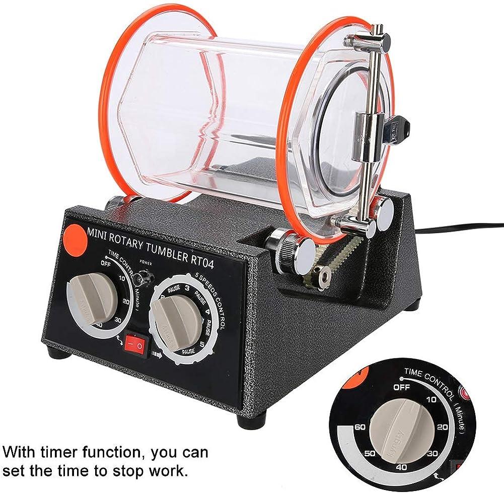 Duevin KD-6808 Rotary Tumbler Jewellery Polisher Machine Polishing Bead Cleaner