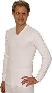 Best mens thermal underwear v neck long sleeve vest Reviews
