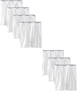 Fruit of the Loom Men's Boxer Briefs 100% Cotton Underwear