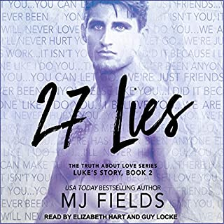 27 Lies audiobook cover art