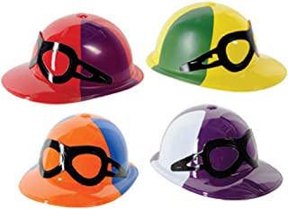 Plastic Jockey Helmets (asstd colors) Party Accessory  (1 count)