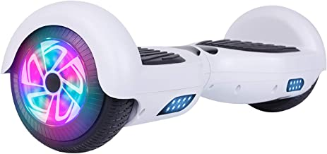 """LIEAGLE Hoverboard, 6.5"""" Self Balancing Scooter Hover Board with Bluetooth, UL2272 Certified Wheels LED Lights for Adult Kids"""