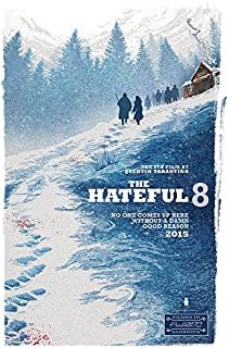 "The Hateful 8 (27"" X 40"") Advance Movie Poster"