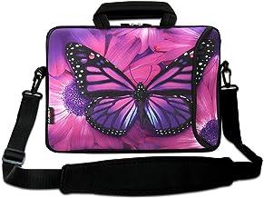 AUPET 13 - 13.3 inch Laptop Computer Neoprene Sleeve Carrying Case Bag with Handle, Adjustable Shoulder Strap & Extra Pock...