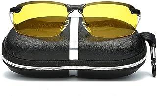 CICADAS Polarizzato Occhiali per Visione Notturna,HD Anti-riflesso Occhiali di Protezione Polarizzati,Protezione UV400 per...