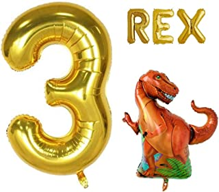 three rex birthday party