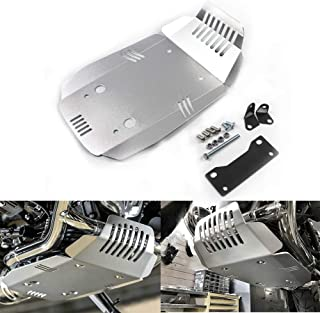 Motorcycle Skid Plate Engine Guard Protection for BMW R Nine T & Scrambler & Pure 2013-2017 (Silver)