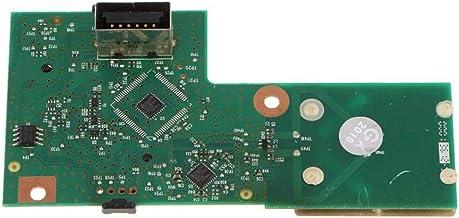 XZANTE Parte De Reparación para Xbox 360 S 360 Delgado 4Gb 250Gb Rf Tablero De Montaje Del Anillo Del Botón De Encendido Del Receptor