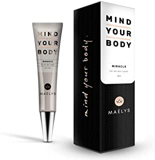 Instant Eye Cream for a Face Lift and Wrinkle Remover | Removes Under Eye Bags and Puffiness in Seconds | MAELYS Cosmetics.5 oz